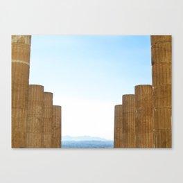 The Acropolis  Canvas Print