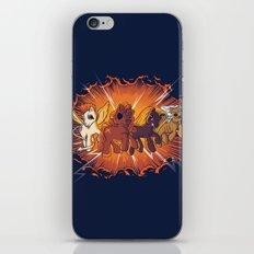 Four Little Ponies of the Apocalypse iPhone & iPod Skin