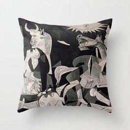 GUERNICA #1 - PABLO PICASSO Throw Pillow