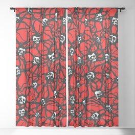 Contagion Sheer Curtain