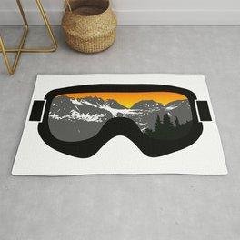 Sunset Goggles 2   Goggle Designs   DopeyArt Rug