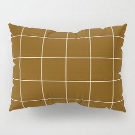 Minimal_LINES_EARTH Pillow Sham