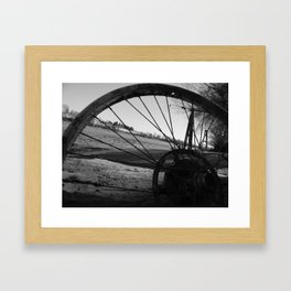Riverside Shadowed Framed Art Print