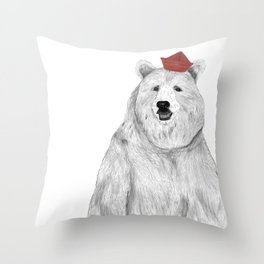 Oso Padre Throw Pillow