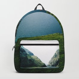saksun at faroe Backpack