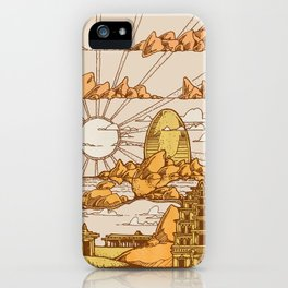 TEMPLES OF HAMPI iPhone Case