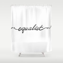 Equalist Shower Curtain