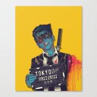 boneface Canvas Prints featuring Crazy 88 by boneface