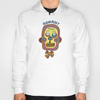 human Hoodies featuring Human  by PINT GRAPHICS