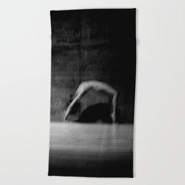 male nude study Beach Towel