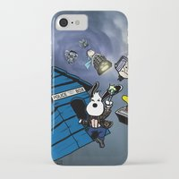 snoopy iPhone & iPod Cases featuring Snoopy Doctor Who by Kieron O'Gorman