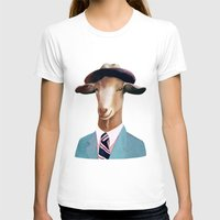 goat T-shirts featuring Goat by Animal Crew