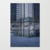 community Canvas Prints featuring Community  by Made By Anxiety