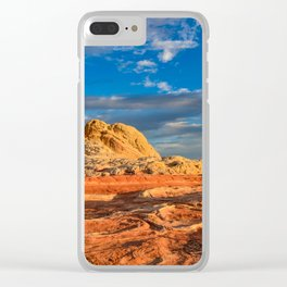 White Pocket, Vermilion Cliffs - I Clear iPhone Case