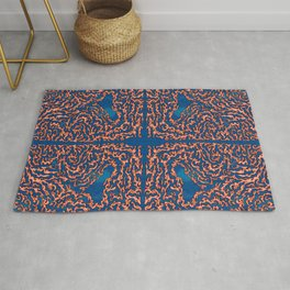 Belief - Symmetrical Abstract Expressionism Rug