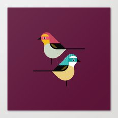 Prety Birds Canvas Print