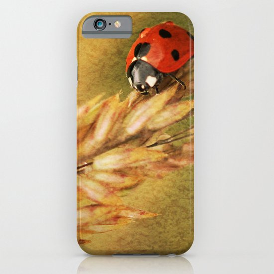 Lady on a Grass iPhone & iPod Case
