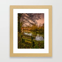 Denford Mill House Framed Art Print