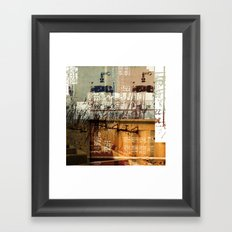 BABEL OVERDUBS II Framed Art Print