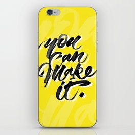 You can make it. iPhone Skin