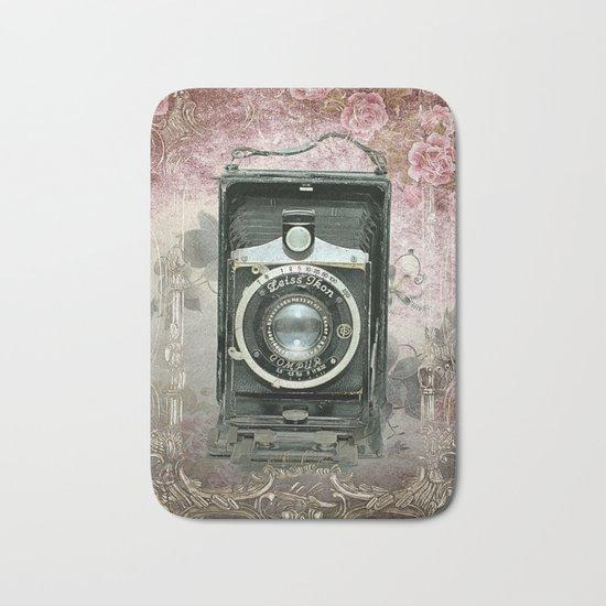 Lady Photographer Bath Mat