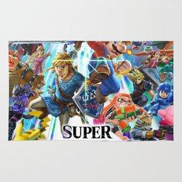 Super Smash Bros All Characters Rug