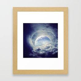 Moonlight Shadow Framed Art Print
