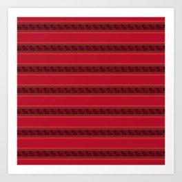 Nazca Lines - Andean Design Art Print