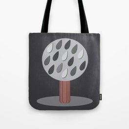 Dark Trees Tote Bag