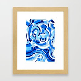 Seigaiha Series - Alliance Framed Art Print