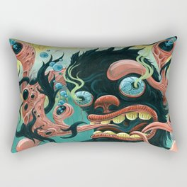 Guardian of the Bubble Pipes of Creation Rectangular Pillow