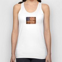 america Tank Tops featuring america by Arken25
