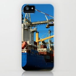 Container Ship iPhone Case