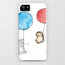 Balloon Friends iPhone Case