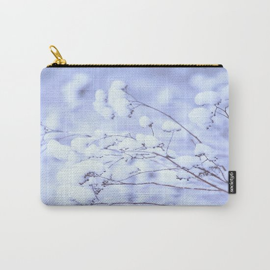 Snowy Softness  Carry-All Pouch
