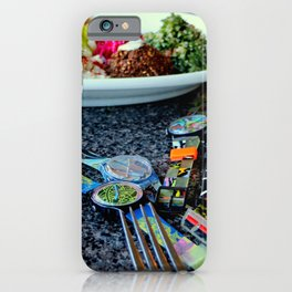 Middle Eastern Swatch Salad iPhone Case