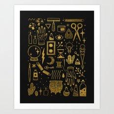 Make Magic Art Print