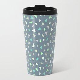 Triangle Confetti  Travel Mug