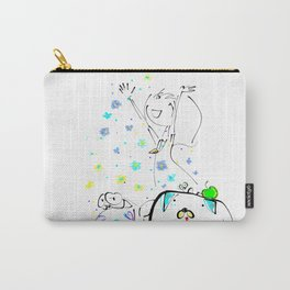 raining flowers Carry-All Pouch