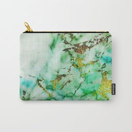 Marble Effect #3 Carry-All Pouch