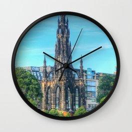Scott Monument Wall Clock