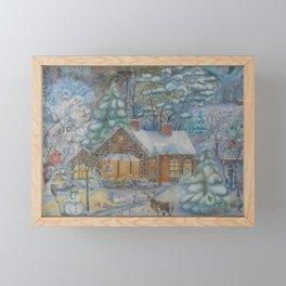 Winter Framed Mini Art Print