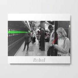 Rebel 1 Metal Print