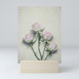 Delicate Roses Mini Art Print