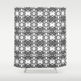 morpatwork Shower Curtain