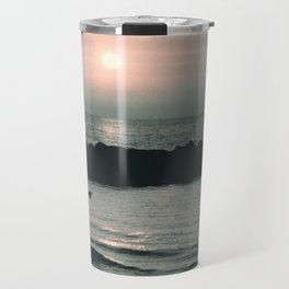 Sunset Ocean Bliss #4 #nature #art #society6 Travel Mug