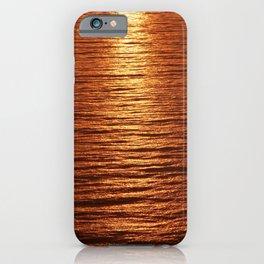 copper sea iPhone Case