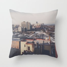 North Chicago Throw Pillow