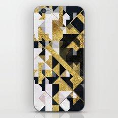gold lyyfd iPhone & iPod Skin