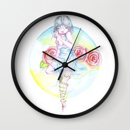 The roses Wall Clock